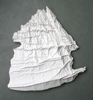 Skulptur-Relief aus Gips