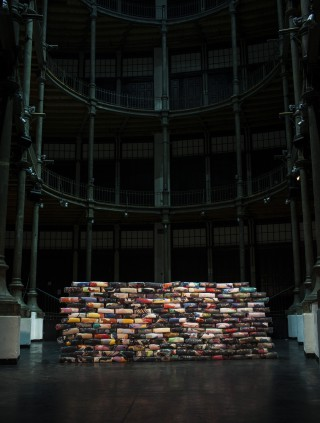 kunstasyl2015 Installation Keiderspende Pablo Chiereghin