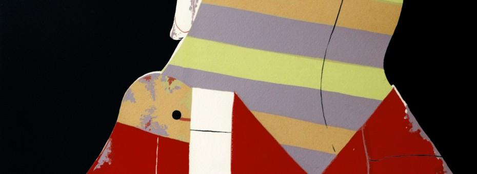 12 - Korab, Karl - Im Profil Siebdruck auf Papier, 1970  Rufnummer: 12 Künstler: Karl Korab Titel: Im Profil Technik: Siebdruck auf Papier Jahr: 1970 Rufpreis: 200 €