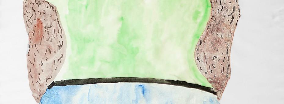 04 - Einem, Caspar -  Amerikaner Aquarell auf Papier  Rufnummer: 04 Künstler: Caspar Einem Titel: Amerikaner Technik: Aquarell auf Papier Rufpreis: 200 €