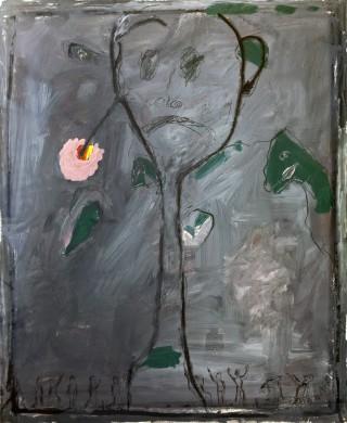 29 - Notto - Trauriger Mann mit Blume Mischtechnik, 2001 Rufnummer: 29 Künstler: Notto Titel: Trauriger Mann mit Blume Technik: Mischtechnik Jahr: 2001 Rufpreis:  200 €